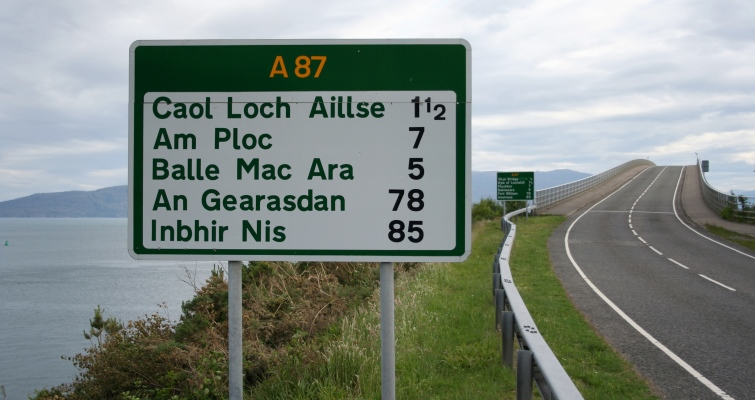 STGA discovers Scottish Place Names