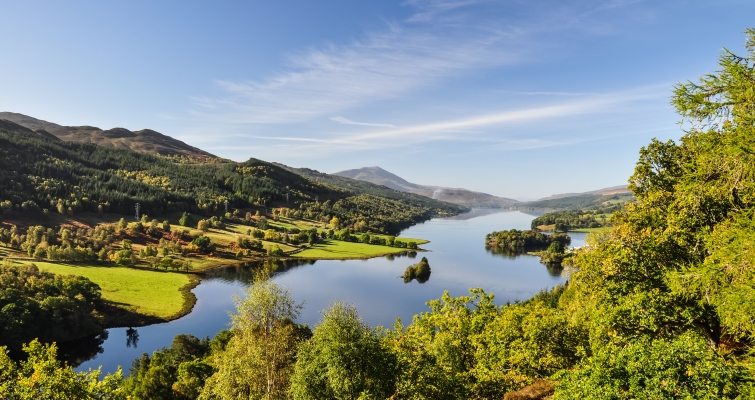 Queen's View at Loch Tummel