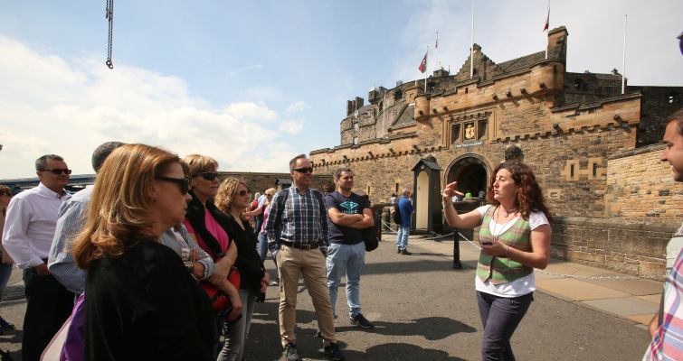 Edinburgh Castle Entrance