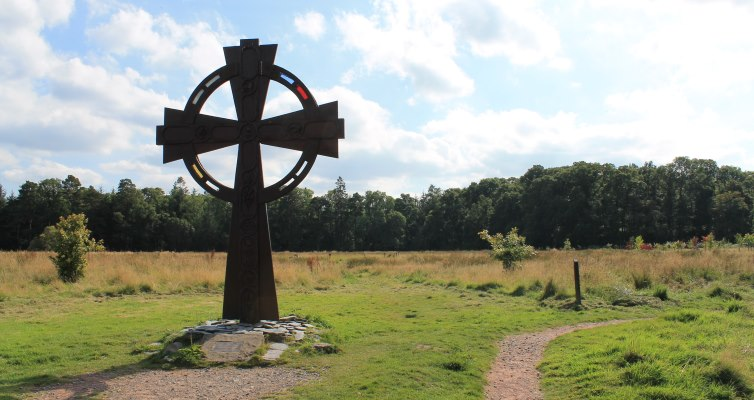 Celtic Cross near Loch Lomond