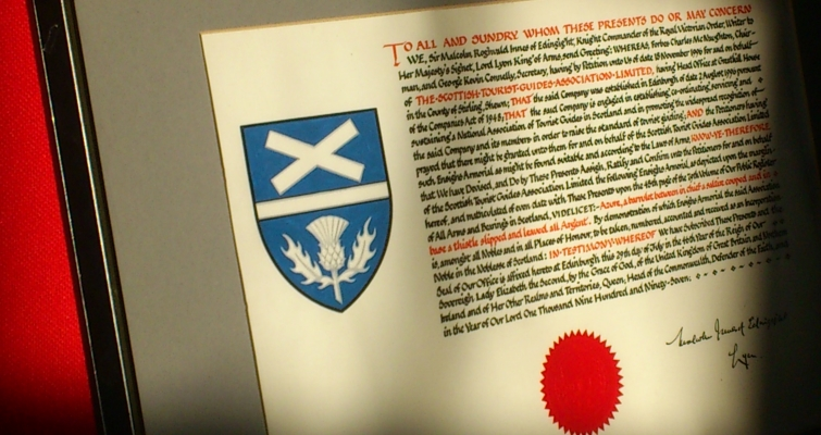 STGA Lord Lyon Coat of Arms